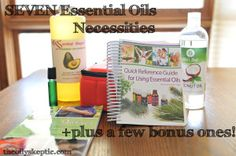 7 essential oils necessities plus a few bonus ones! #essentialoils #youngliving #doterra