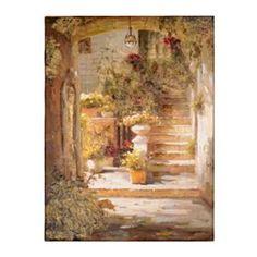 Sunlight & Urns Canvas Art Print | Kirkland's for kitchen