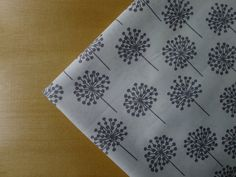 Stof Fabrics PURE - Bursts Grey White  1/2 YARD