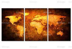 Die ganze Welt auf einer Wand!