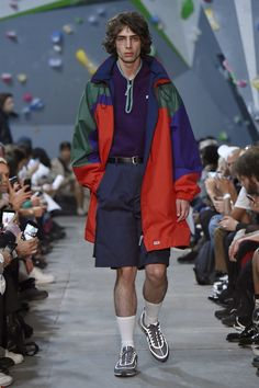 Martine Rose SS18 Menswear Collection at LFWM