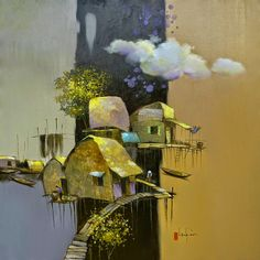 .. @ Dang Van Can, 1957, Vietnamese painter