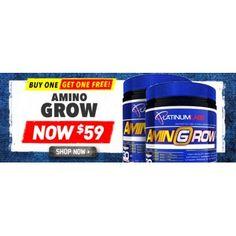 Buy One Get One Free on PLATINUM LABS AMINO GROW (2 FOR $59) @ Shotgun - Bargain Bro