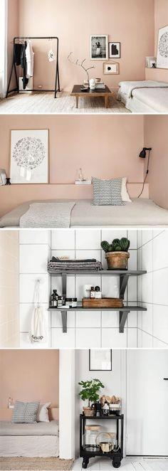 romantisches Wohnzimmer-rosa-grau Landhausstil | Mein neues ...