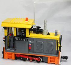 """Australian Sugar cane style loco """"BILBY"""" #flickr #LEGO #train"""