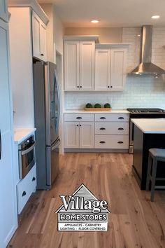 Diy Kitchen Cabinets, Kitchen Cabinet Design, Modern Kitchen Design, Interior Design Kitchen, Island Kitchen, Kitchen Remodeling, Interior Modern, Kitchen Layout Design, Modern Kitchen White Cabinets
