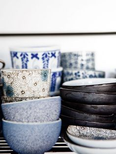 Japanese dishes mottled © e © tea and teapot Weddings Frà ¨ res