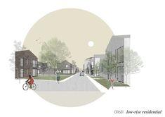20 Finalistas anunciados em concurso internacional de habitação para a Rússia,PPA Arquitetura Entry. Cortesia de Strelka KB