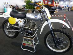 Vintage CCM Dirt Bike - I remember hearing the thunder it created among the 2-strokes in the early 70's at the Pepperell, Mass track