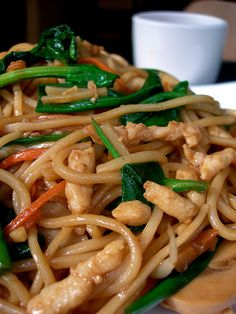 chicken low mein #slow cooker healthy recipes