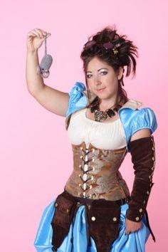 Damsel in this Dress - Steampunk Cinderella