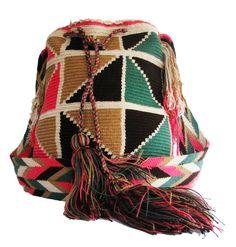 www.mochilaswayuubags.com www.facebook.com/Wayuuuuuu www.etsy.com/... ASK FOR OUR WHOLESALE PRICES whatsapp  :+57 3203459226 $43 USD #wayuu #crochet #handmade #crochet #boho #bohostyle #bohochic #hippie #cartagena #colombia #colombiabags #art #wayuutribe #mochilaswayuu #mochilas