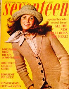 #Seventeen Magazine cover, Aug. '73