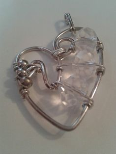 Wisiorek serce