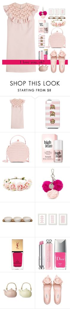 """23.02.18-2"" by malenafashion27 on Polyvore featuring Giambattista Valli, Nancy Gonzalez, Forever 21, Nine West, Yves Saint Laurent, Christian Dior and Bloomingville"