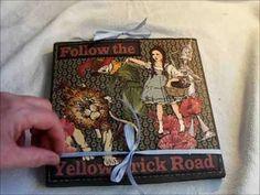 creativecafegirl...youtube...Unusual Magic Of Oz Mini Album