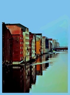 My edit from Trondheim Most Beautiful, Beautiful Places, Trondheim, Norway, Earth, Pictures, Photos, Grimm, Mother Goddess