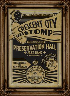 The Preservation Hall Jazz Band plays Sleep No More Jan 2-5    I wouldn't mind this at all.