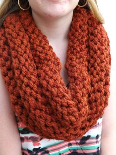 Chunky Knit Cowl  layered cowl  winter by JensTangledThreads