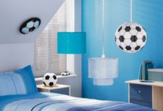 This great paper light shade from Argos will achieve instant style that your little football fan will adore.