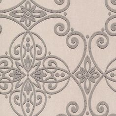 "Brewster Home Fashions Venue 33' x 20.5"" Galina Scroll Damask Panel Wallpaper Color: Gray"