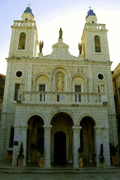 The Franciscan Wedding Church at Kafr Kana (Cana of Galilee) www.ffhl.org #Franciscan #HolyLand