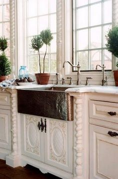 Not sure if I like this or not, I do like the sink, but not sure it looks good with the cabinet they have in on.