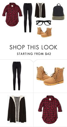 """Untitled #29"" by selinamichele ❤ liked on Polyvore featuring 7 For All Mankind, Zara and Abercrombie & Fitch"