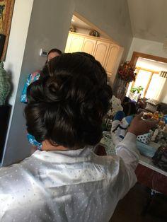 Bridal Bun, Updo Hair