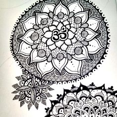 Tutorial : How to Draw Mandalas