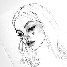 New Art Ideas Drawing Sketches Artists Ideas Pencil Art Drawings, Art Drawings Sketches, Realistic Drawings, Cool Drawings, Sketch Drawing, Pretty Art, Cute Art, Illustration Inspiration, Arte Sketchbook
