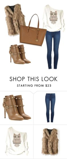 """Untitled #29"" by istyle5 ❤ liked on Polyvore featuring мода, Valentino, Paige Denim и Michael Kors"