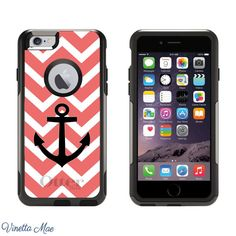 iPhone Otterbox Case for iPhone 5 5s 6 6 Plus Preppy by VinettaMae