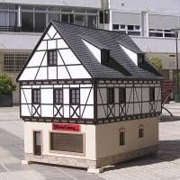 Houseland Parque Temático. Vivienda tradicional Alemania. Scale Model Architecture, Scale Models, Shed, Outdoor Structures, Models, Different Types Of, Countries Of The World, Germany, Traditional