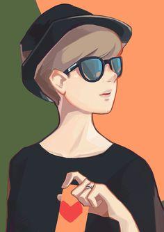 Heegyeong illustration-personal work-heart