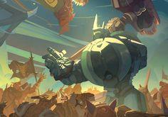 Overwatch's Cool New Comic Explores Reinhardt's...: Overwatch's Cool New Comic Explores Reinhardt's Backstory #Overwatch… #Overwatch