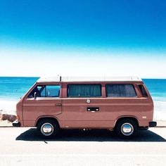 This is the dream, @uomalibu. #UORoadTrip #vwbus #urbanoutfitters