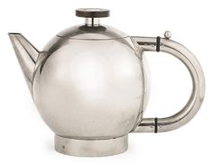 It's Naum Slutzky's teapot produced by the Bauhaus Metal Workshop in 1928