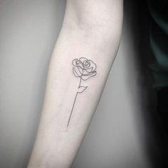 Small Rose Tattoos | POPSUGAR Beauty Photo 40 #beautytatoos