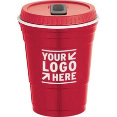 Game Day Cup with Lid 16 oz Promotional Giveaways, Branded Gifts, Non Profit, Corporate Gifts, Swag, Branding, Marketing, Game, Website