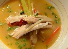 Rød karrysuppe med kokosmælk og citrongræs - - Ude og Hjemme Thai Red Curry, Supper, Ethnic Recipes