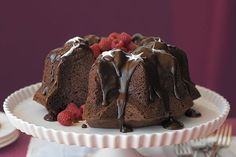 This luscious chocolate cake is a guaranteed standout at any party. Chocolate richness delivers a WOW moment with every bite.
