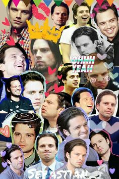 I'm not obsessed.I promise 😌 Sebastian Stan, Marvel Actors, Marvel Characters, Marvel Dc, Bucky Barnes, Benedict Cumberbatch, Tom Hiddleston, Loki, Collages