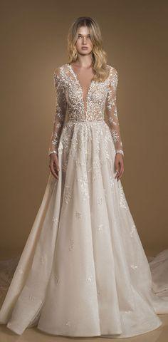 Idan Cohen Wedding Dresses – The Frozen Flower Bridal Collection Dress Wedding, Bridal Dresses, Mermaid Dresses, Dream Dress, Bridal Collection, Dan, Ball Gowns, Applique, Frozen