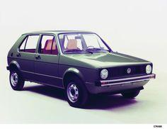 Volkswagen #Golf de 1974 -