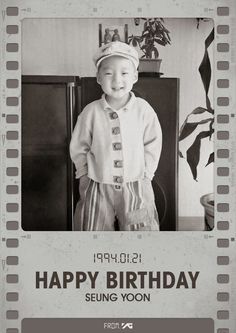 HAPPY BIRTHDAY SEUNGYOON | FROM:YG