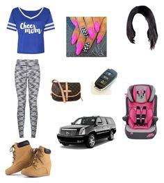 """""""Jasmine first day of school"""" by zendaya090 ❤ liked on Polyvore featuring moda ve Louis Vuitton"""