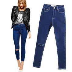 Ravishing Mid Waist Stretch Butt Lifting Push Up Jeans