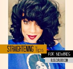 Straightening Tips For Newbies - http://blog.curlbox.com/2014/12/02/straightening-tips-for-newbies/