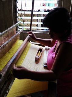 Yellow Ilocos, Textiles, Yellow, Fabrics, Textile Art